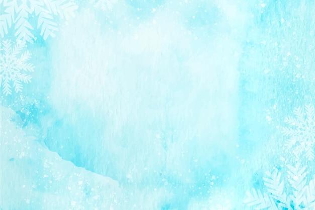Priorità bassa di inverno dell'acquerello
