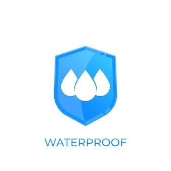 Icona impermeabile e resistente all'acqua