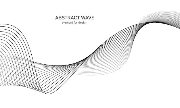 Elemento d'onda per il design