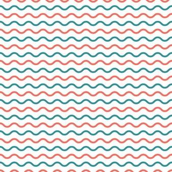 Modello di onde. fondo geometrico astratto. illustrazione di stile di lusso ed elegante
