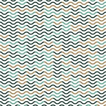 Motivo a onde, sfondo semplice geometrico. illustrazione di stile elegante e di lusso