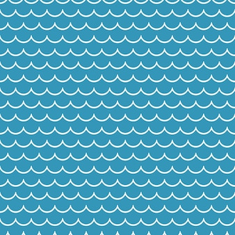 Modello di onde. illustrazione nautica ed estiva. sfondo geometrico astratto