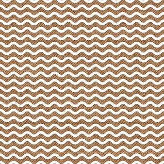Motivo a onde sul tessuto, sfondo geometrico astratto. illustrazione di stile creativo e di lusso
