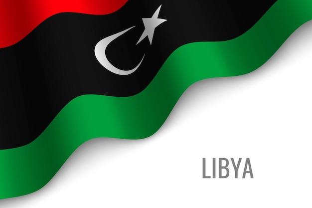 Sventolando la bandiera della libia