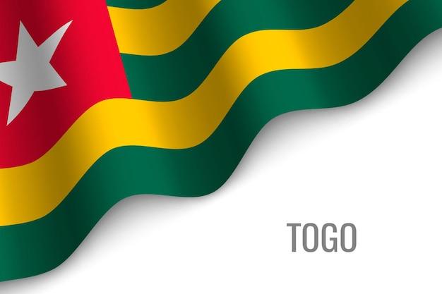 Sventolando la bandiera del togo
