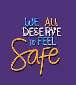 Tutti meritiamo di sentire un testo sicuro