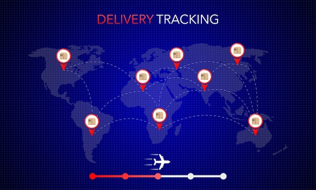 Banner web per la progettazione di app mobili. concetto di servizio di consegna online. concetto di ordine online.