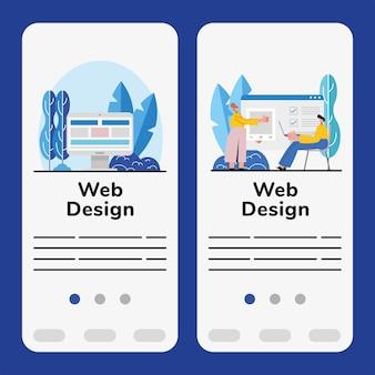 Banner di web design
