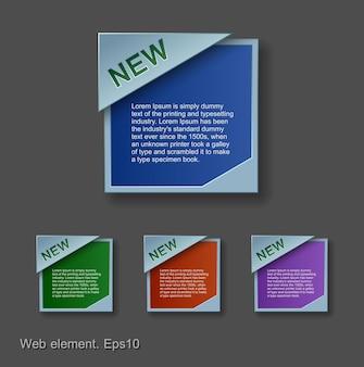 Progettazione di elementi web