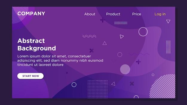 Progettazione di banner per home page web