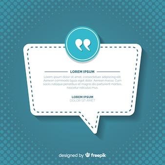 Design testimonial web