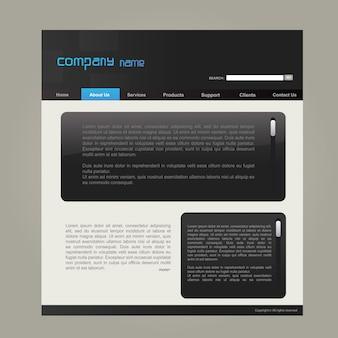 Modello sito web
