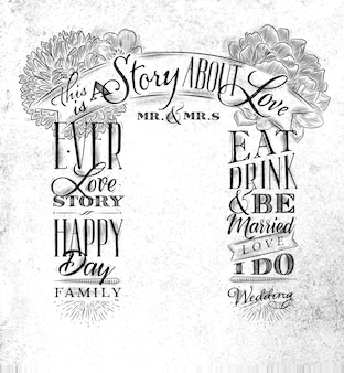 Matrimonio arco sfondo storia d'amore bianco