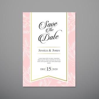 Carta di invito a nozze