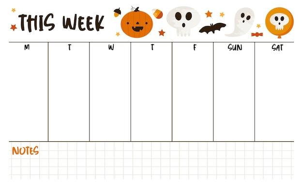 Agenda settimanale