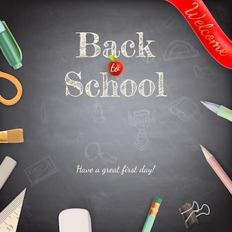 Bentornato a scuola.