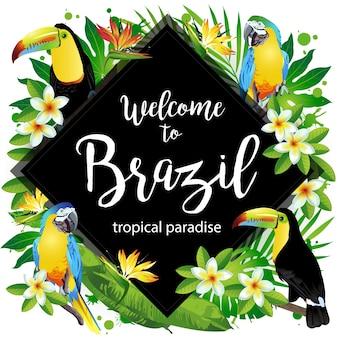 Benvenuto in brasile!