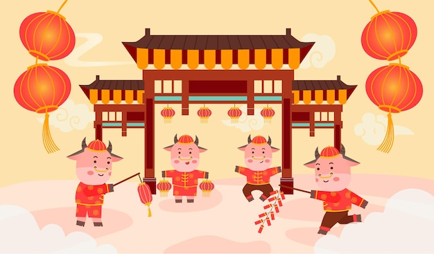Benvenuto l'anno cinese del bue