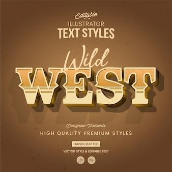 Stile di testo occidentale