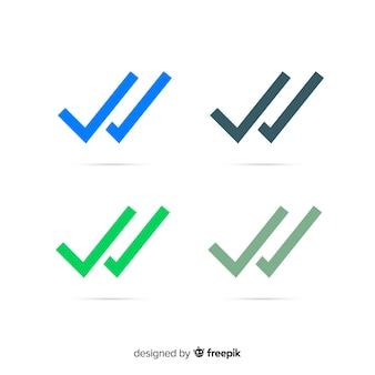 Whatsapp double check design