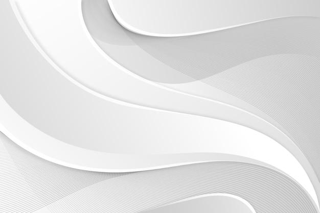 Tema di sfondo astratto bianco