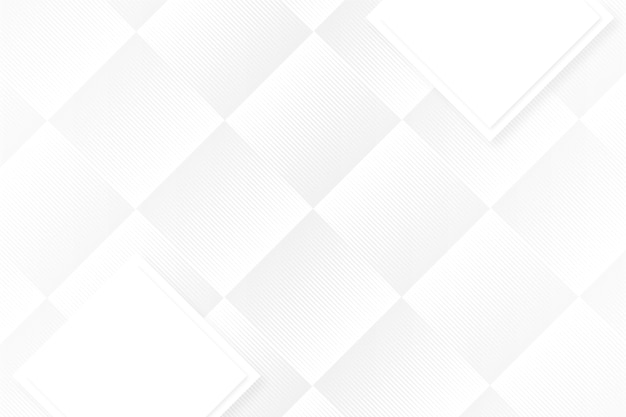 Sfondo bianco forme astratte