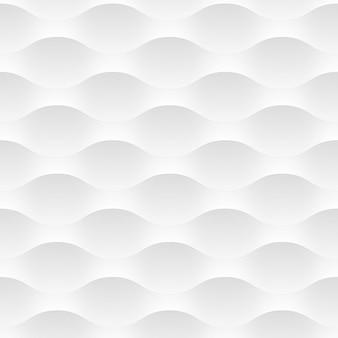 Sfondo bianco di onde astratte