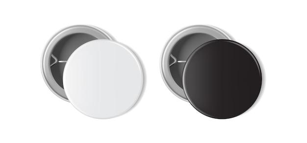 Bianco e nero in bianco isolato su bianco