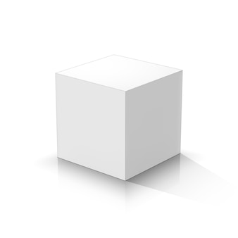 Cubo bianco