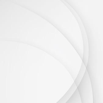 Linee di onda sfondo bianco elegante affari ondulate