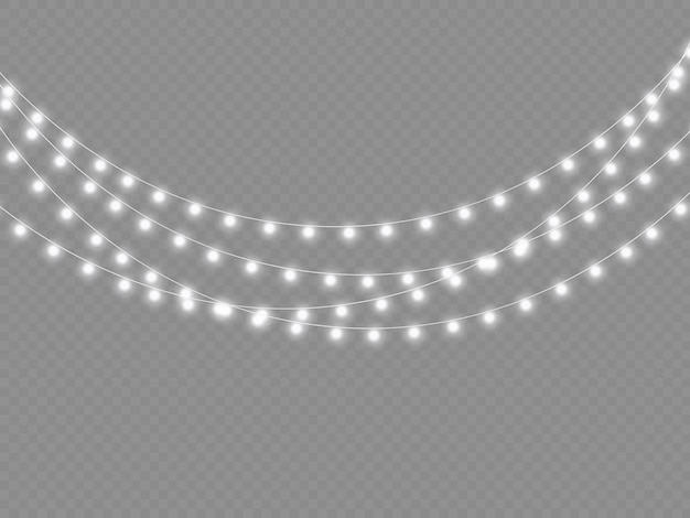 Ghirlanda di luce bianca led decorazioni natalizie con luci al neon