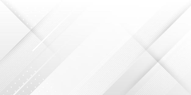 Sfondo bianco a righe moderne