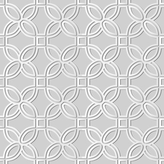 White paper art curve round corner square frame, elegante sfondo decorativo per biglietto di auguri banner web