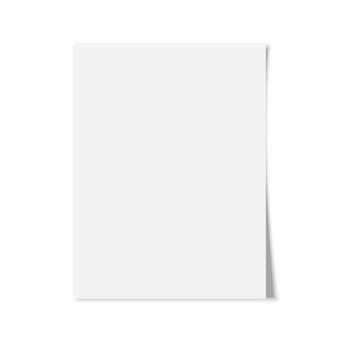Libro bianco su sfondo bianco. illustrazione.