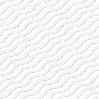 Fondo senza cuciture dell'onda bianca