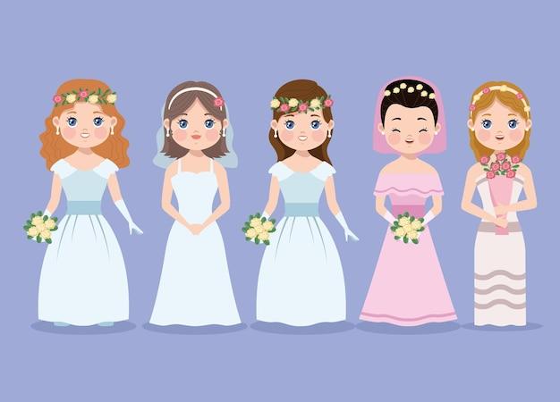 Personaggi delle mogli