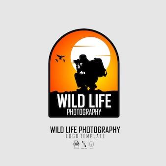Logo di fotografie di vita selvaggia