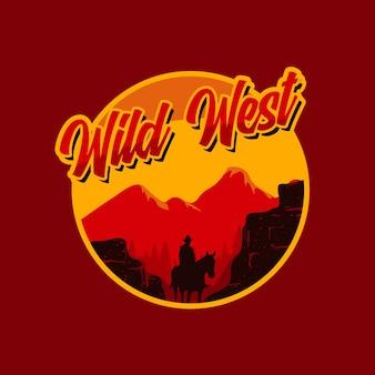 Deserto del selvaggio west