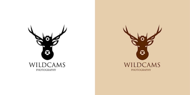 Progettazione del logo della fotografia wildcams