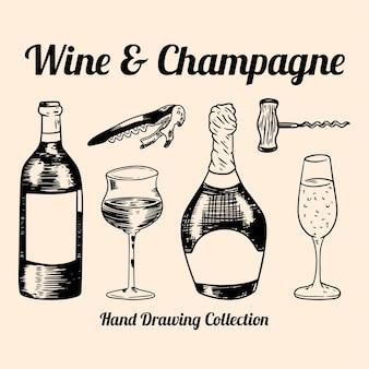 Vino e champagne