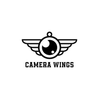 Logo della fotocamera ad ala