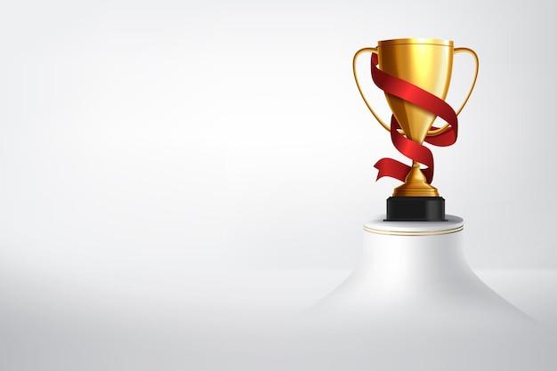Sfondo del vincitore. primo posto di concorso