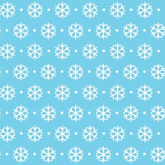Reticolo senza giunte di inverno natale capodanno. bella trama con fiocchi di neve vector illustration eps10