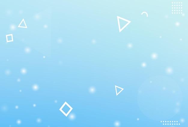 Fondo del fiocco di neve di natale di inverno. vettore di fiocco di neve che cade