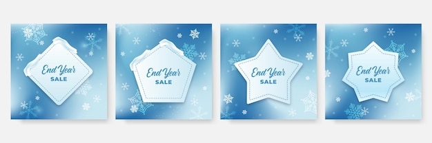 Modello di post sui social media di natale invernale. modello di carta con palloncino, pupazzo di neve, regalo, neve e palma. utilizzabile per social media, banner e annunci web su internet.