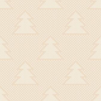 Ornamento per alberi di natale con motivo a maglia per le vacanze invernali