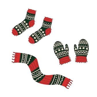 Vestiti a maglia invernali