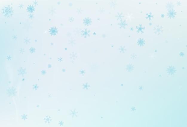 Sfondo di neve invernale