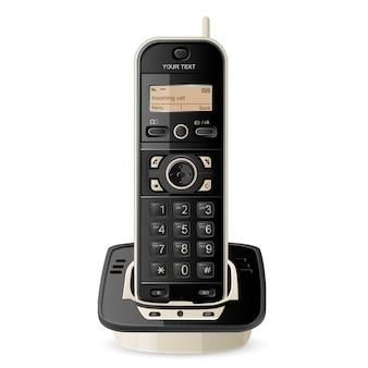 Illustrazione del telefono senza fili