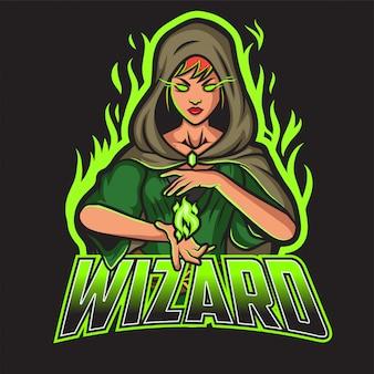 Logo esport wizard